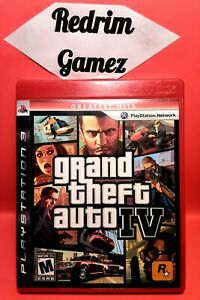 GTA IV w/Map PS3 Video Games