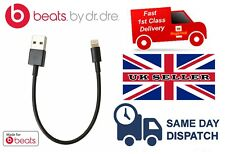 REPLACEMENT USB LIGHTNING CHARGE CABLE FOR BEATS X BEATSX HEADPHONES BLACK