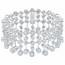 Magnificent Cartier Diamond Platinum Tennis Bracelet
