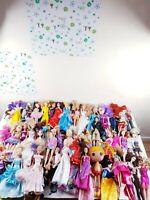 Huge  Bundle. 82 Dolls,Accessories Excellent Condition