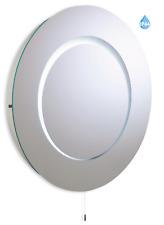 *CLEARANCE* Firstlight Eclipse 60cm Round IP44 Bathroom Mirror Light 3341
