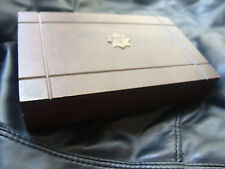 Japanese Wood Crest Chest dybbuk box Active Energy from Ceremonial Amulets Power