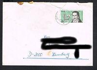 DDR - Bedarfsbrief MiNr. 2201 - Einzelfrankatur EF (342)