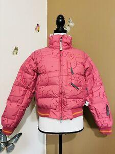 Hello Kitty 686 Women's Sz XS Pink Snowboard Ski Jacket Coat Insulated