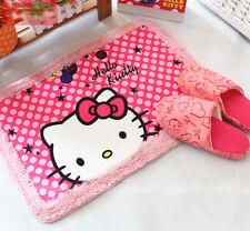 """Cute Hello Kitty Soft Bathroom Doormat Floor Mat Rug Pad 22""""x15.5"""" Pink"""