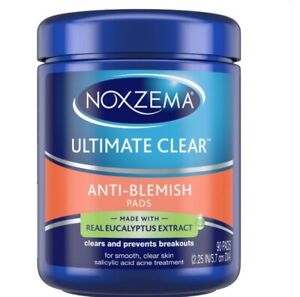 Noxzema Ultimate Clear Pads Anti Blemish 90 ct Shipped quickly!