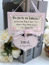 Handmade Wedding Rectangle Decorative Plaques & Signs