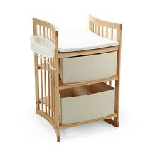 genuine stokke cotbed and changing table