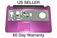 Dell Inspiron 17R 5737 Palmrest w/Touch Pad and Power Button PINK 5NRWN