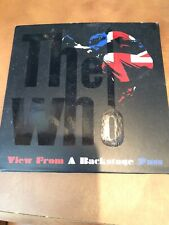 The Who View From A Backstage Pass Fan Club live 2 CD sealed Keith Moon rare oop