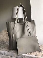 ALLSAINTS genuine leather medium large RAY N/S tote bag handbag with purse