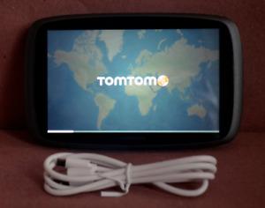 "TomTom GO 600 GPS Portable 6"" Screen Lifetime US/CANADA Maps 3D trucker 4FA60"