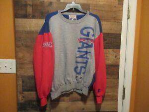 New York Giants Vintage Starter Sweatshirt-Pullover XL In Above Good Cond.