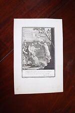 ✒ ca.1802 gravure VOLTAIRE Agathocle - par Moreau le jeune - Romanet