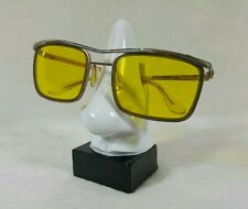 Vintage Lunettes Conduite de nuit Made in Germany Yellow lenses Kalichrome 80's