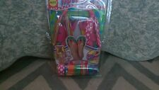 Alex Girl's Flip'em Flops Size 5. Seven pairs in one package! Price Reduced