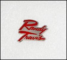 Randy Travis Vintage Metal Pin Pinback Badge
