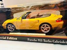 Porsche 911 Turbo Cabriolet 1:18 Special Edition Cabrio Maqueta Coche 1:18