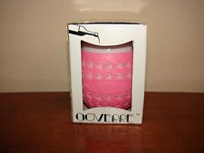 GOVERRE Portable Stemless Wine Glass Tumbler - PINK - New/Open Box