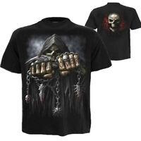 Men's 3D Skull Print T-Shirt Short Sleeve Tee Summer Cool Tops Fashion Funny Tee