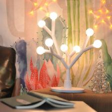 NEW Fugetek Tree Branch LED Table Lamp, 750 Lumen, Modern, 8 Interchangable Bulb