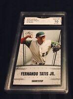 FERNANDO TATIS JR. ROOKIE GEM MINT 10 PADRES 2018 RARE Short Print Baseball 3 RC