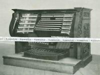 Passau : Der Spieltisch der großen Orgel - um 1925     V 10-13