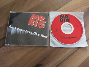MR BIG Ain't Seen Love Like That 1994 SPAIN promo CD single