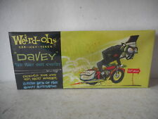 Weird-Ohs Car-Icky-Tures - Davey The Way Out Cyclist Model Kit - Factory Sealed