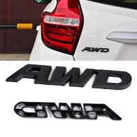 Auto AWD Aufkleber Metall Bumper Emblem Schwarz SUV Deko Für Mercedes VW BMW NEU
