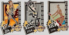 Hard Rock Cafe ONLINE 2014 Sexy FILM GIRLS 3 PIN Set Series HOT PINS New LE 125!
