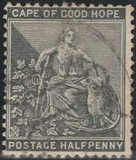 Cape of Good Hope (South Africa) 1882 1/2d WM Crown over CA (Used)