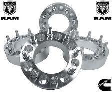 "4 Pc 8 Lug Wheel Spacers Adapters Dodge Ram 2500 3500 Dually 2"" 9/16 Studs"