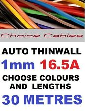 30M 1mm 12V AUTO CABLE,CAR LOOM WIRE,16.5A,1.0mm 32/0.20 AUTOMOTIVE CABLE 12/24V