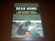 DEAR HOME Soldiers And The Home Front History Channel 2 DVD Set WWI WWII DVD NEW