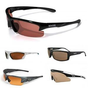 Maxx HD Sunglasses - Golf Fishing Hunting Motorcylce Sports - Over 25 Styles!