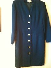 NEW..KASPER A.S.L..DRESS..HUNTER GREEN..LINED BUTTON FRONT..POLY..6..