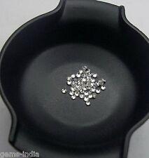 50 Diamonds,0.5-1mm/ 0.30Cts Natural White Diamonds Round Wholesale Lot GEM EDH