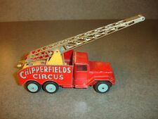 RARE Old Vtg Corgi Chipperfields Circus International Truck Toy Gt Britain