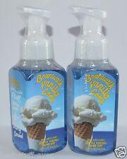 Lot Of 2 Bath & Body Works Boardwalk Vanilla Cone Gentle Foaming Hand Soap Wash