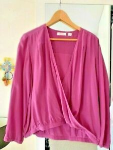 Sass & Bide blouse - Designer, women's beautiful silk top