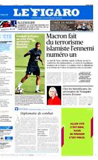 Le Figaro 30/08/2017*MACRON & ISLAMISME*PSG & Mbappé**TRUMP & CORÉE**Cholestérol