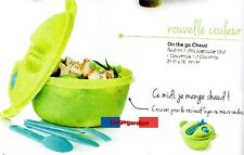 ON THE GO CHAUD Tupperware produit neuf