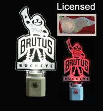 Personalized Ohio State Brutus Night Light - Licensed, Ohio State Buckeyes