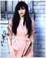 Aubrey Peeples authentic signed celebrity 8x10 photo W/Cert Autograph A0022