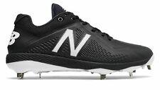 New Balance Low-Cut 4040v4 Elements Pack Metal Baseball Cleat Mens Shoes Black