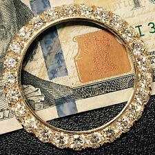 10.11 CARAT CUSTOM VS-H DIAMOND BEZEL FOR MENS ROLEX DAY DATE II 14k YELLOW GOLD