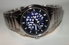 Nicolet Men's WATCH Swiss Automatic LIMITED EDITION  Blue Moon Face NEW $1750