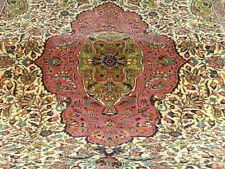 Gallery Size 6'5''x9'5'' Antique Early 1920s Ottoman Wool Pile Area Rug Turkey