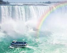 Wentworth Rainbow & Tourist Boat Niagara Falls 250 Piece Wooden Jigsaw Puzzle